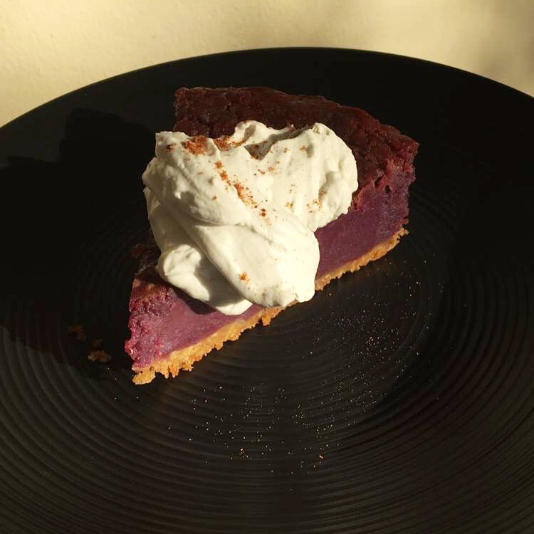 Purple Yam Pie